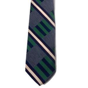 Vintage GOLDSMITH'S Memphis Tie Blue & Green
